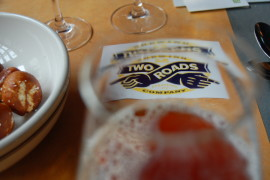Welcome Two Roads Brewing to Philly, just in time for Philadelphia Beer Week!