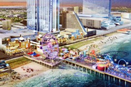 Steel Pier's Observation Wheel On Its Way to AC