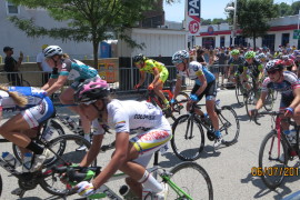 Female cyclists put the pedal to the metal at the annual Manayunk Bike Race