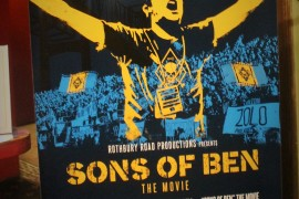 Rocking Red Carpet Premiere of Sons of Ben: The Movie at The Trocadero Theatre