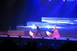 Triple-Threat Siblings Julianne and Derek Hough Wowed the Crowd at the Move Live on Tour Show