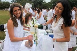 Dressed in White, Diner En Blanc Treks to the Navy Yard
