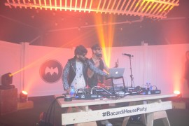 BACARDÍ Untameable House Party on Wheels Rocks Penn's Landing