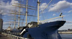 Navigate Towards the Moshulu Ship to Discover Martin Miller's Gin