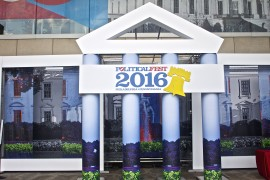 The Democratic National Convention Political Fest a Slice of DNC Fever