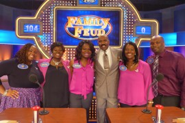 Philly Family Tries Their Luck on Family Feud with Steve Harvey