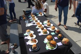 With Burgers, Wings AND Tacos, No One Left Hungry at This Year's Burger Brawl