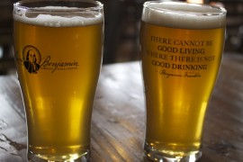 Saint Benjamin Brewery Offers Craft Beer with a Side of History